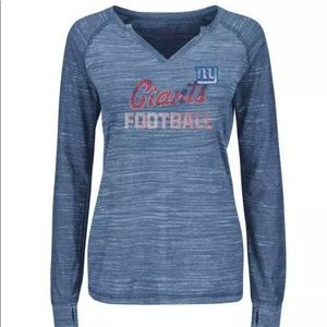 New York Giants Shirt Women Majestic NWT